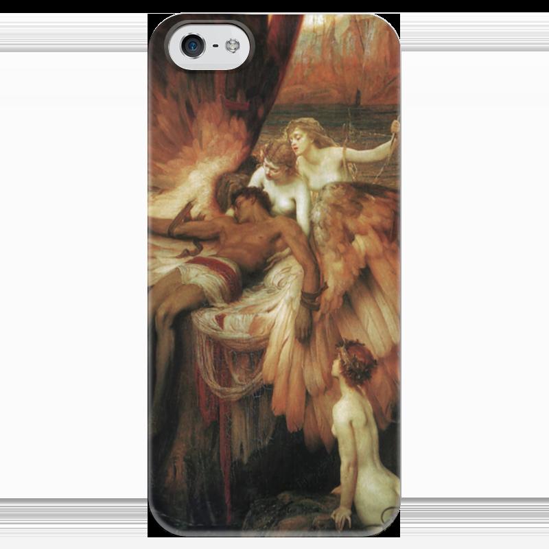 Чехол для iPhone 5 глянцевый, с полной запечаткой Printio Оплакивание икара lament for the fallen