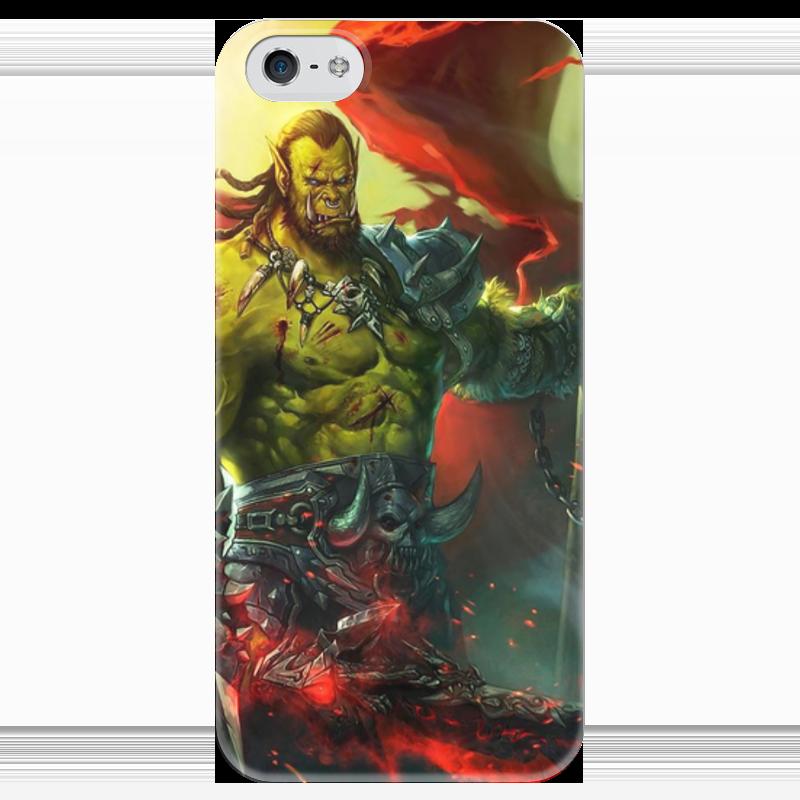 Чехол для iPhone 5 глянцевый, с полной запечаткой Printio Warcraft collection чехол для iphone 4 глянцевый с полной запечаткой printio warcraft collection panda