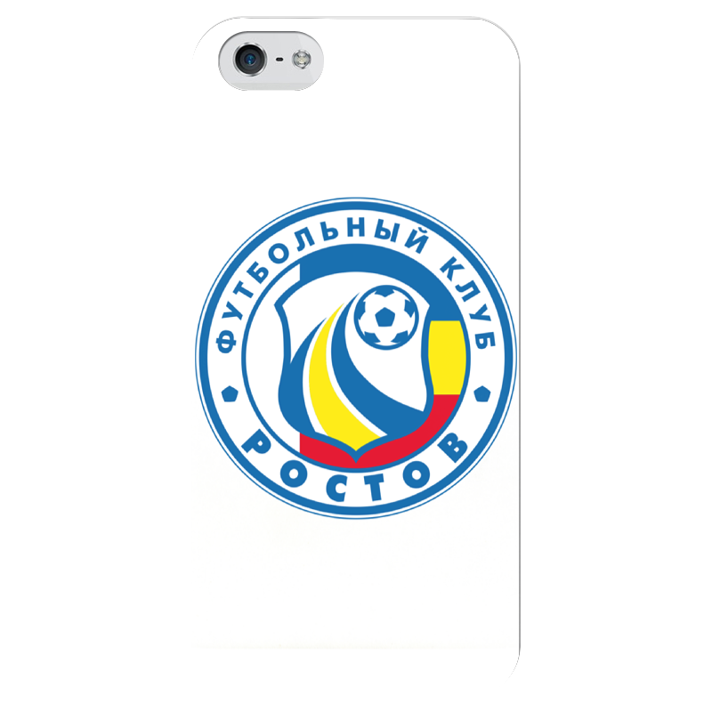 Чехол для iPhone 5 глянцевый, с полной запечаткой Printio Ростов чехол для iphone 5 глянцевый с полной запечаткой printio ember spirit dota 2