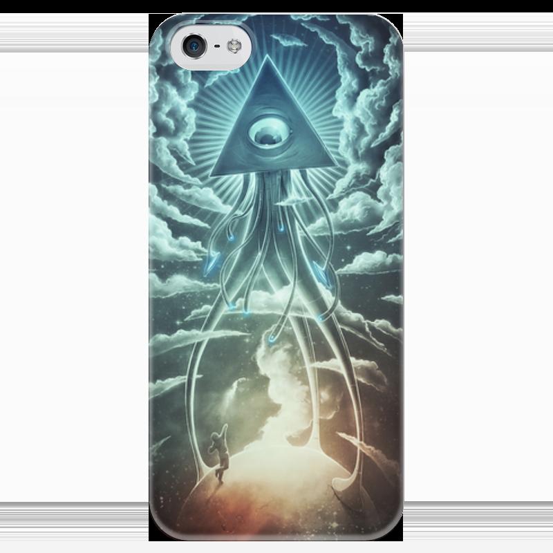 Чехол для iPhone 5 глянцевый, с полной запечаткой Printio Война миров футболка с полной запечаткой printio война миров z