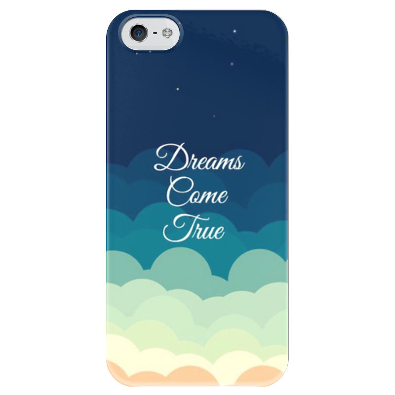 Чехол для iPhone 5 глянцевый, с полной запечаткой Printio Dream чехол для iphone 7 глянцевый printio мечты витторио коркос
