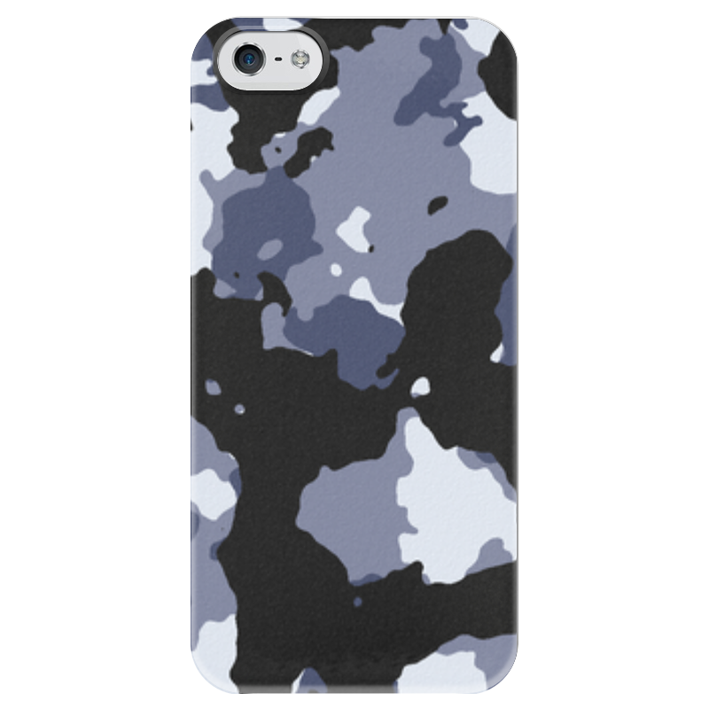 Чехол для iPhone 5 глянцевый, с полной запечаткой Printio Камуфляж чехол для iphone 5 глянцевый с полной запечаткой printio ember spirit dota 2