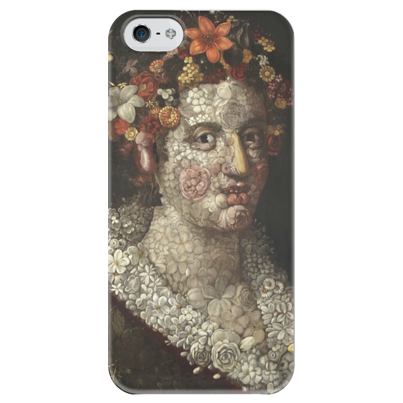 Чехол для iPhone 5 глянцевый, с полной запечаткой Printio Флора (джузеппе арчимбольдо) вернер кригескорте джузеппе арчимбольдо
