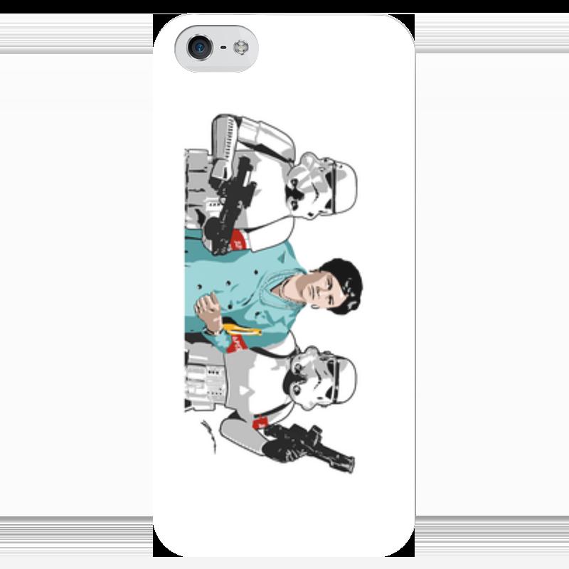 Чехол для iPhone 5 глянцевый, с полной запечаткой Printio Нонна чехол для iphone 5 глянцевый с полной запечаткой printio ember spirit dota 2