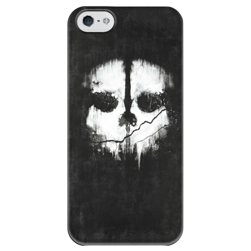Чехол для iPhone 5 глянцевый, с полной запечаткой Printio Call of duty: ghosts футболка с полной запечаткой для мальчиков printio кал оф дьюти call of duty игры