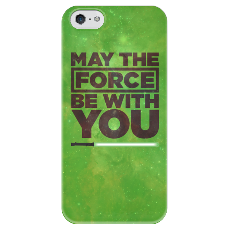 Чехол для iPhone 5 глянцевый, с полной запечаткой Printio May the force be with you simonsen you may plow here – the narrative of sa ra brooks