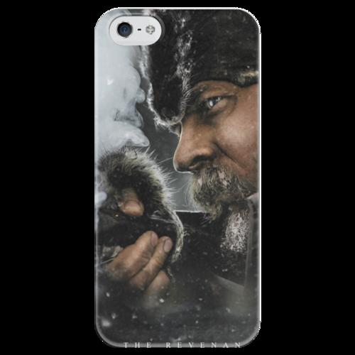"""Чехол для iPhone 5 глянцевый, с полной запечаткой """"The Revenant"""" - фильм, 2015, выживший, the revenant, иньяритту"""