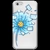 """Чехол для iPhone 5 глянцевый, с полной запечаткой """"Postcrossing"""" - postcrossing, посткроссинг, почтовые открытки"""