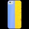 """Чехол для iPhone 5 глянцевый, с полной запечаткой """"Украина"""""""