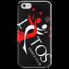 """Чехол для iPhone 5 глянцевый, с полной запечаткой """"Black Diagonal Logo Case"""" - lotos, тск лотос"""