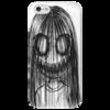 """Чехол для iPhone 5 глянцевый, с полной запечаткой """"некто"""" - арт"""