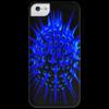 """Чехол для iPhone 5 глянцевый, с полной запечаткой """"Морской ёж."""" - оригинально"""