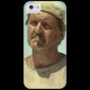 """Чехол для iPhone 5 глянцевый, с полной запечаткой """"Господин Би"""" - кино, кин-дза-дза, плюк, данелия, яковлев"""