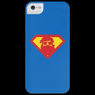Чехол для iPhone 5 глянцевый, с полной запечаткой Beardman Case