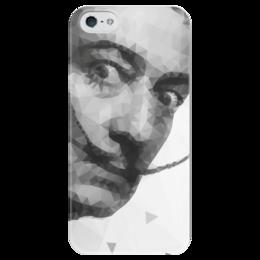 """Чехол для iPhone 5 глянцевый, с полной запечаткой """"Сальвадор Дали"""" - арт, сальвадор дали, искусство, сюрреализм, авангард"""