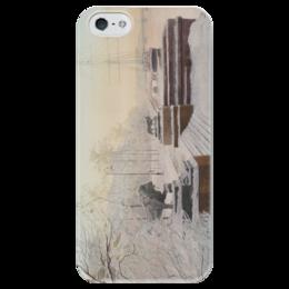 """Чехол для iPhone 5 глянцевый, с полной запечаткой """"Питер 2"""" - санкт-петербург"""