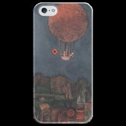 """Чехол для iPhone 5 глянцевый, с полной запечаткой """"Воздушный шар"""" - картина, клее"""