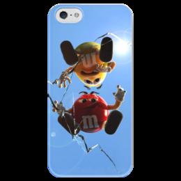 """Чехол для iPhone 5 глянцевый, с полной запечаткой """"Чехолчик"""" - m&m"""