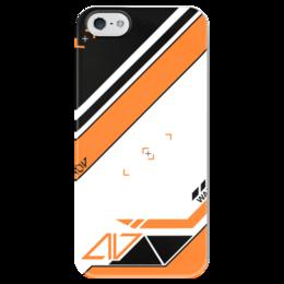 "Чехол для iPhone 5 глянцевый, с полной запечаткой ""Azimov"" - cs, cs go, skins, azimov"