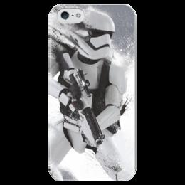 """Чехол для iPhone 5 глянцевый, с полной запечаткой """" clone"""" - кино, фильм, star wars, звездные войны, clone"""