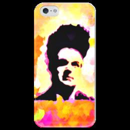 """Чехол для iPhone 5 глянцевый, с полной запечаткой """"Eraserhead"""" - арт, дэвид линч, голова ластик"""