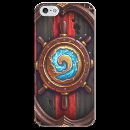 """Чехол для iPhone 5 глянцевый, с полной запечаткой """"Hearthstone: Heroes of Warcraft"""" - hearthstone"""