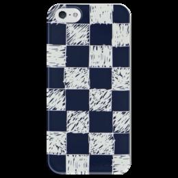 """Чехол для iPhone 5 глянцевый, с полной запечаткой """"Твой ход"""" - игра, логика, шахматы, chess, тактика"""