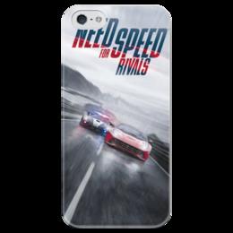 "Чехол для iPhone 5 глянцевый, с полной запечаткой ""Need For Speed RIVALS"" - тачки, auto, cars, car, need for speed, nfs, нид фор спид, street racing, стритрейсинг, стритрейсеры"
