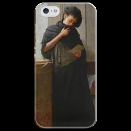 """Чехол для iPhone 5 глянцевый, с полной запечаткой """"Саудади (Saudade)"""" - картина, жуниор"""