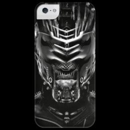 """Чехол для iPhone 5 глянцевый, с полной запечаткой """"Dead Space X-ray"""" - sci fi, айзек кларк, мёртвый космос, безжизненное пространство"""