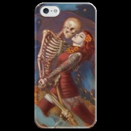 """Чехол для iPhone 5 глянцевый, с полной запечаткой """"Brujeriah"""" - brujeriah"""