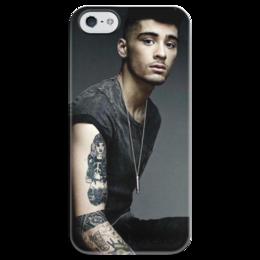 "Чехол для iPhone 5 глянцевый, с полной запечаткой ""Zayn Malik"" - one direction, zayn malik, зейн малик"