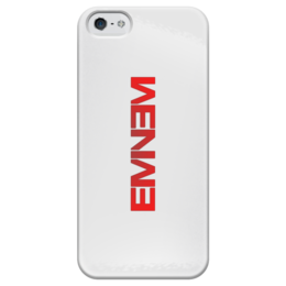 "Чехол для iPhone 5 глянцевый, с полной запечаткой ""Eminem"" - iphone, eminem, эминем, slim shady"