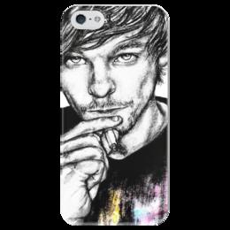 """Чехол для iPhone 5 глянцевый, с полной запечаткой """"Louis Tomlinson"""" - one direction, 1d, louis tomlinson"""