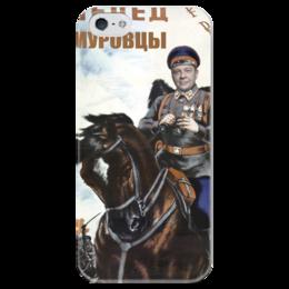 """Чехол для iPhone 5 глянцевый, с полной запечаткой """"Демурачехол для iDemura 5 """" - демура"""