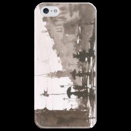 """Чехол для iPhone 5 глянцевый, с полной запечаткой """"Питер 3"""" - санкт-петербург"""