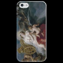 """Чехол для iPhone 5 глянцевый, с полной запечаткой """"Рождение Млечного Пути"""" - картина, рубенс"""