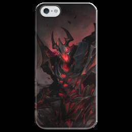 """Чехол для iPhone 5 глянцевый, с полной запечаткой """"Dota 2 Shadow Fiend"""" - dota 2, дота 2, sf, shadow fiend, dota 2 shadow fiend"""