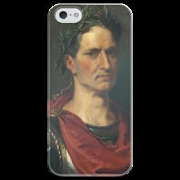 "Чехол для iPhone 5 глянцевый, с полной запечаткой ""Гай Юлий Цезарь"" - картина, рубенс"
