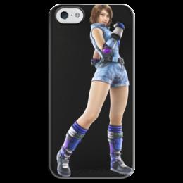 """Чехол для iPhone 5 глянцевый, с полной запечаткой """"Tekken"""" - игры, tekken"""