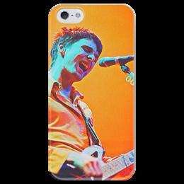"Чехол для iPhone 5 глянцевый, с полной запечаткой ""muse."" - muse, мьюз, мэтт беллами"