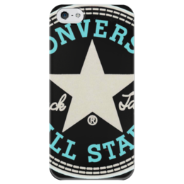 "Чехол для iPhone 5 глянцевый, с полной запечаткой ""CONVERSE ALL STAR"" - converse, all star, конверс, конверсы"