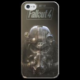 "Чехол для iPhone 5 глянцевый, с полной запечаткой ""Fallout 4"" - fallout, steam, bethesda, видеоигры, fallout 4"