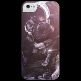 """Чехол для iPhone 5 глянцевый, с полной запечаткой """"Battlefield 3"""" - battlefield 3, bf3, battlefield 3 bf3, battlefield, gomios13, frostbite"""