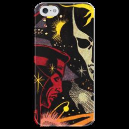 """Чехол для iPhone 5 глянцевый, с полной запечаткой """"Доктор Стрэндж"""" - comics, комиксы, марвел, doctor strange, dr strange"""