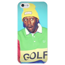 "Чехол для iPhone 5 глянцевый, с полной запечаткой ""wolf gang/tyler the creator"" - tyler the creator, ofwgkta, wolf, exclusive, wolfgang, orginal, golfwang, wolf haley"