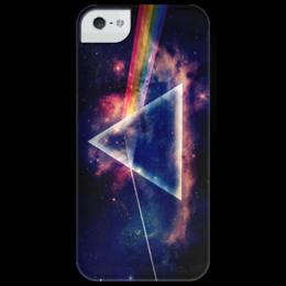 """Чехол для iPhone 5 глянцевый, с полной запечаткой """"Pink Floyd """" - rock, uk, психоделический рок"""