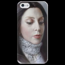 """Чехол для iPhone 5 глянцевый, с полной запечаткой """"Lady Gaga Artpop Fan Art"""" - поп, gaga, леди гага, артпоп"""