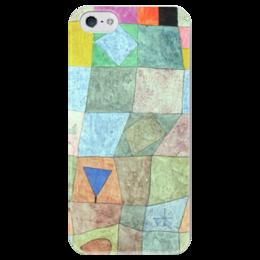"""Чехол для iPhone 5 глянцевый, с полной запечаткой """"Товарищеский матч"""" - картина, клее"""