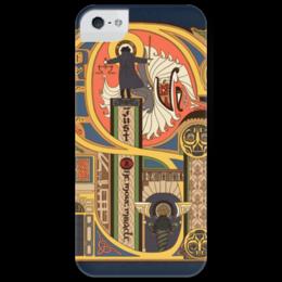 """Чехол для iPhone 5 глянцевый, с полной запечаткой """"Спина дирижера"""" - музыка, music, дирижер, conductor"""